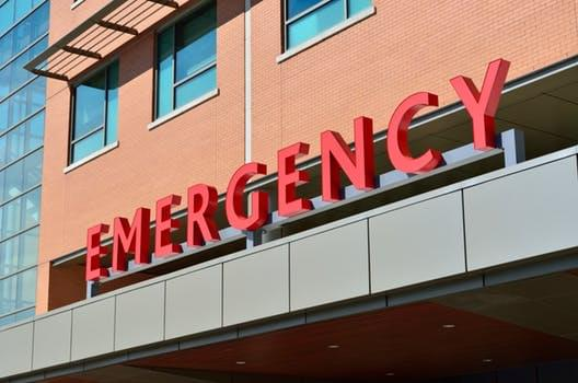 emergency letters on building