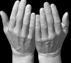 saving hands