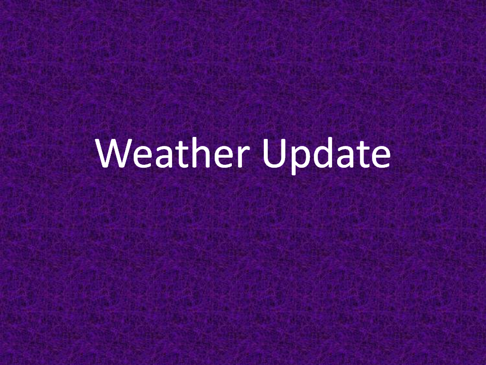Weather Update