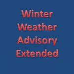 Winter Weather Advisory Extended Thru 9 AM Friday