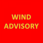 UPDATE:  Wind Advisory Extended to Noon Sunday