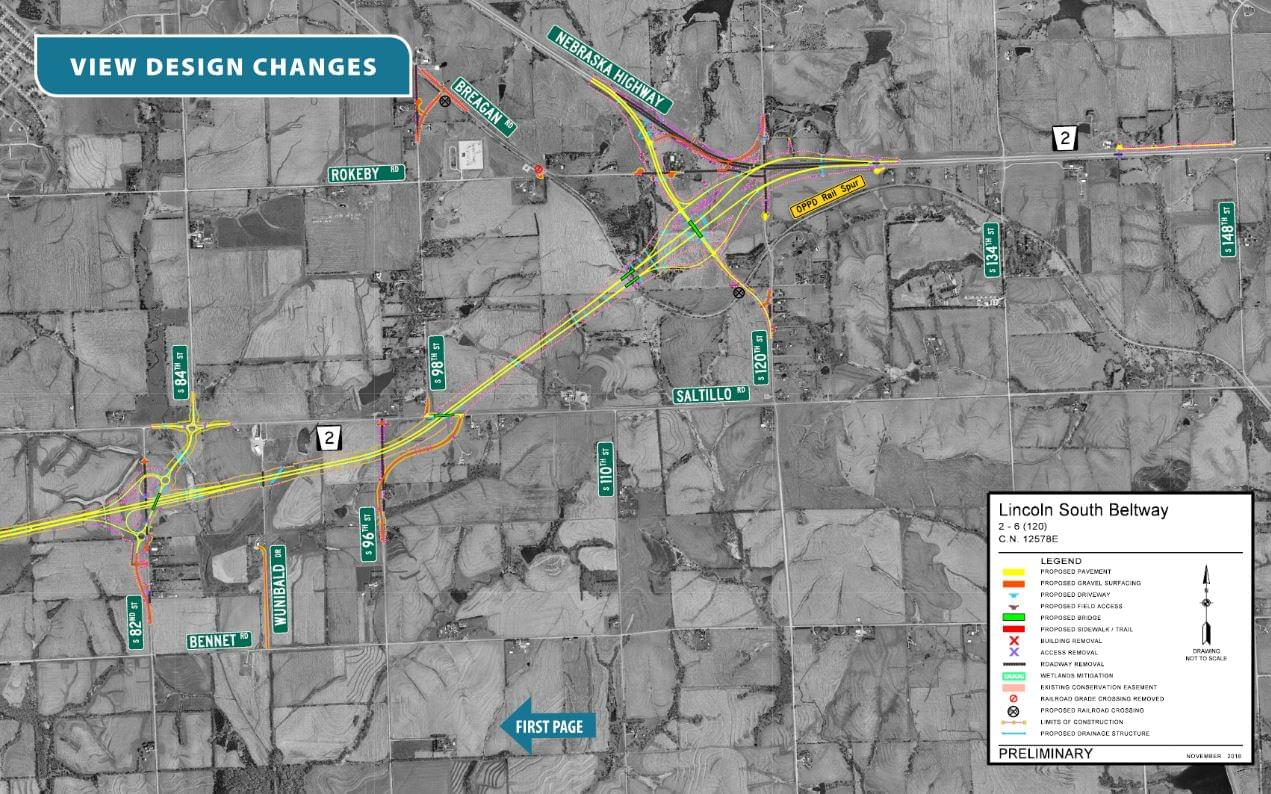 Accelerated Timeline Announced for Lincoln's South Beltway