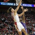 Roby Dominates as Nebraska Defeats Northwestern 59-50, Securing Their Second Straight Win