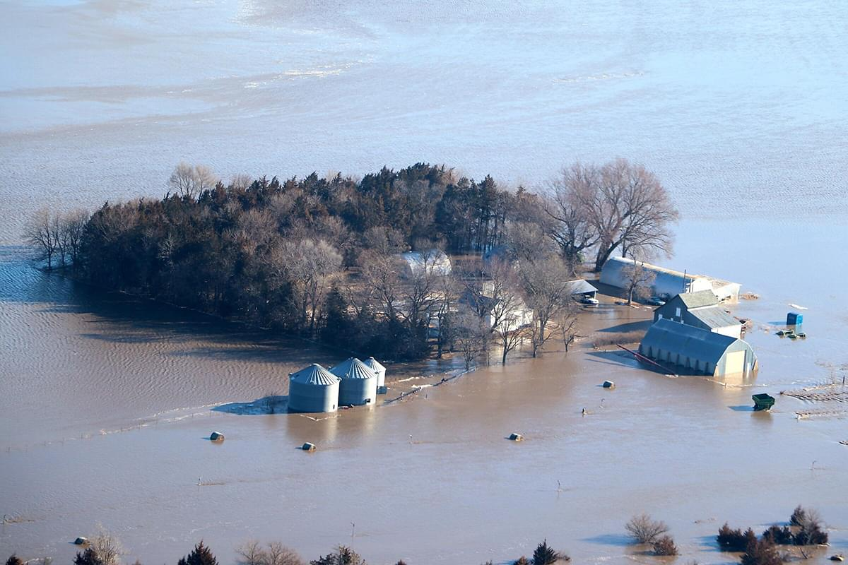 Nebraska Bucks Chance To See Widespread Flooding Unlike Other States