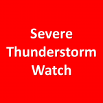 Severe Thunderstorm Watch Until 2 am Friday