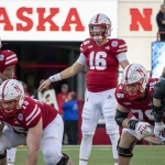 Quarterback Noah Vedral Leaving Nebraska Football