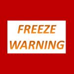 Freeze Warning 10 pm Sunday to 9 am Monday