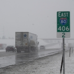 Crashes Reported As Nebraska, Iowa Get 1st Widespread Snow