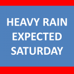 Weather Update – Lincoln Area Expecting Heavy Rain Saturday