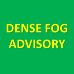 Dense Fog Advisory Until 7AM Tuesday