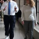 gov walks with first lady