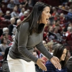 Husker Tournament Hopes Fall with Loss to Michigan
