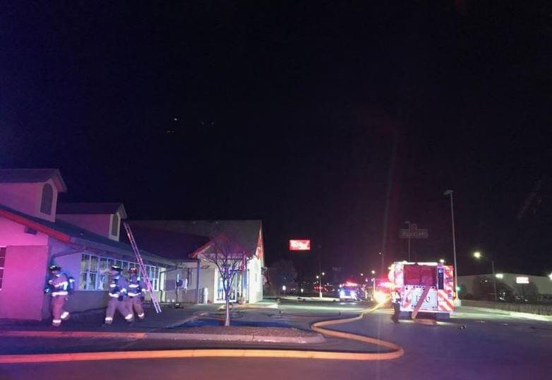 Golden Corral Closed After Early Morning Fire