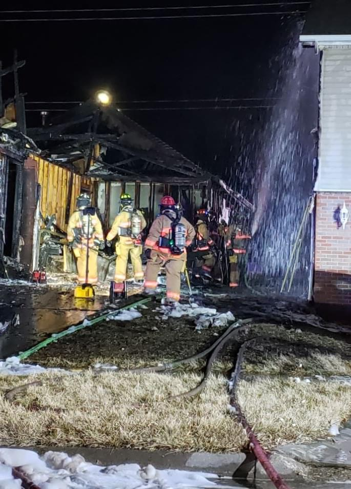 Two Alarm Fire Rips Through Lincoln Home