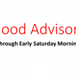 Flood Advisory Through Early Saturday Morning for Lancaster County