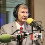 """Hot Mic: NU System President Ted Carter says Football Announcement """"Tonight"""""""
