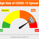 Lancaster County COVID-19 Risk Dial Remains In Elevated Orange Range