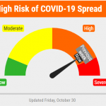 Lancaster County COVID-19 Risk Dial Remains In Elevated High Risk Orange