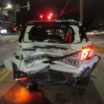 LPD Cruiser Rear-Ended Saturday, Driver Cited For DUI