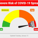 """Lincoln – Lancaster County COVID-19 Risk Dial Remains """"Red"""" For Week 10"""