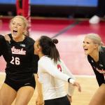 No. 5 Nebraska finally gets season started, Sweeps Indiana