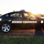 Vehicle Stolen In Lincoln Leads NSP On High Speed Chase