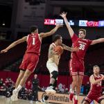 No. 21 Wisconsin handles Nebraska 61-48