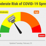 Lincoln – Lancaster County COVID-19 Risk Dial Remains Mid-Yellow Range
