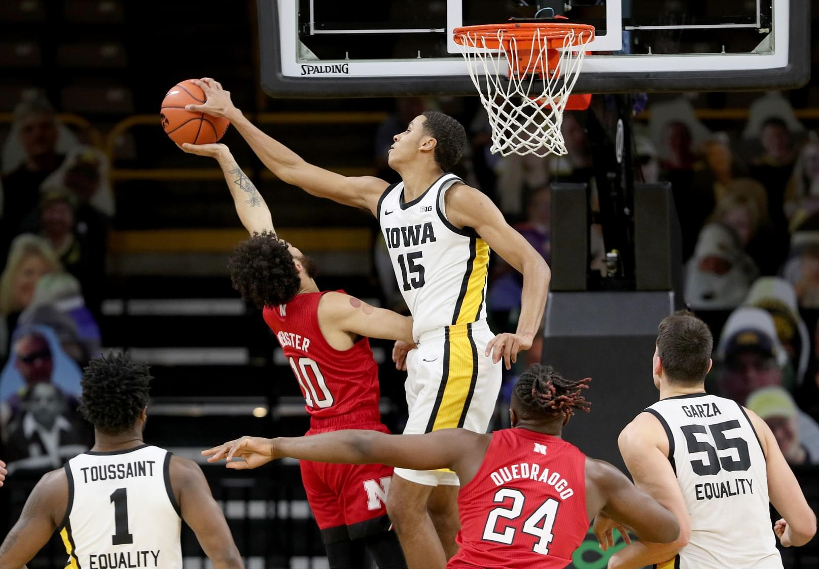 IOWA MENS BASKETBALL VS NEBRASKA