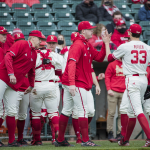 Nebraska wins series at Illinois, Stands atop Big Ten