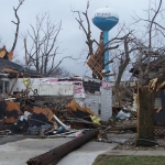 Water tank to be checked for tornado damage