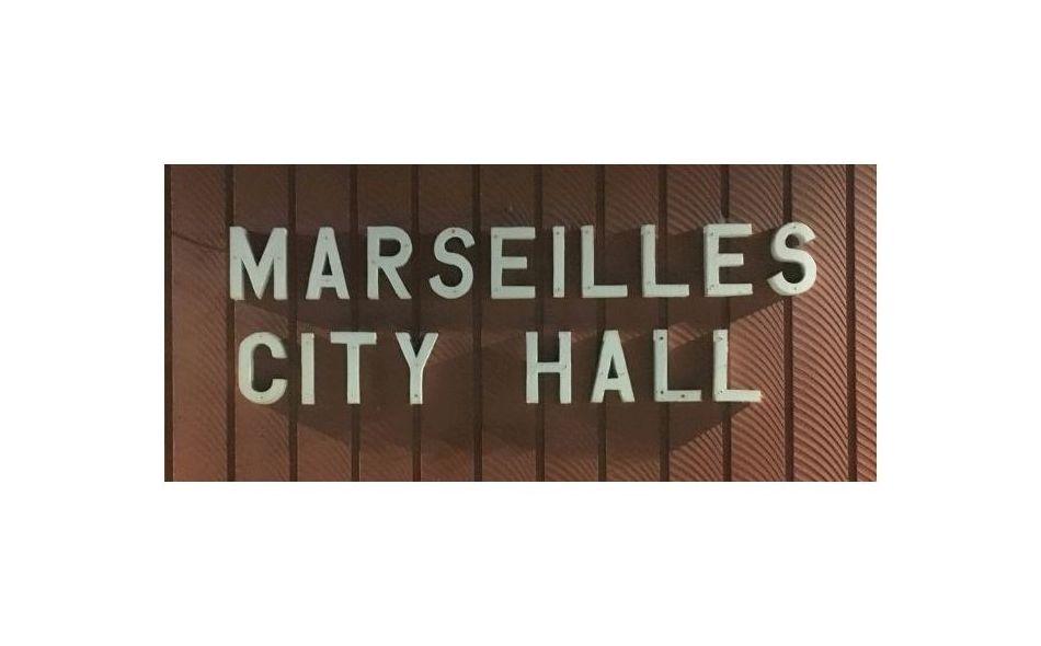 Marseilles City Hall front