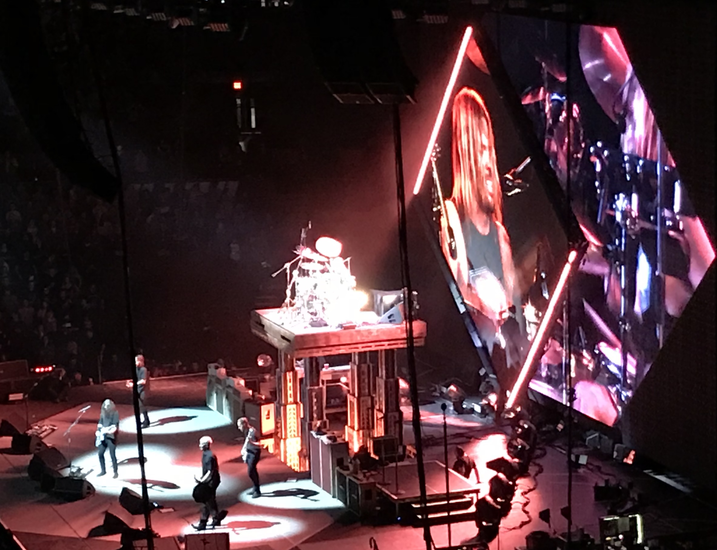 Foo Fighters live in Champaign