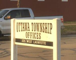 Ottawa Township Building sign