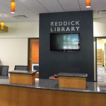 Reddick Library Open with Reduced Hours and Services