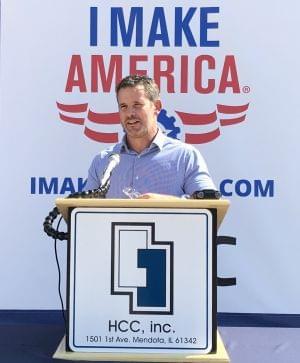 Adam Kinzinger at HCC