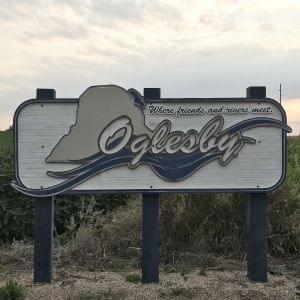 Oglesby sign