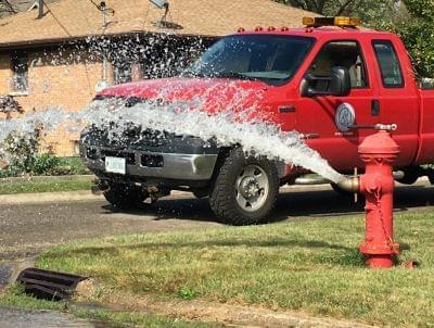 Ottawa water main flushing schedule November 2 through 6