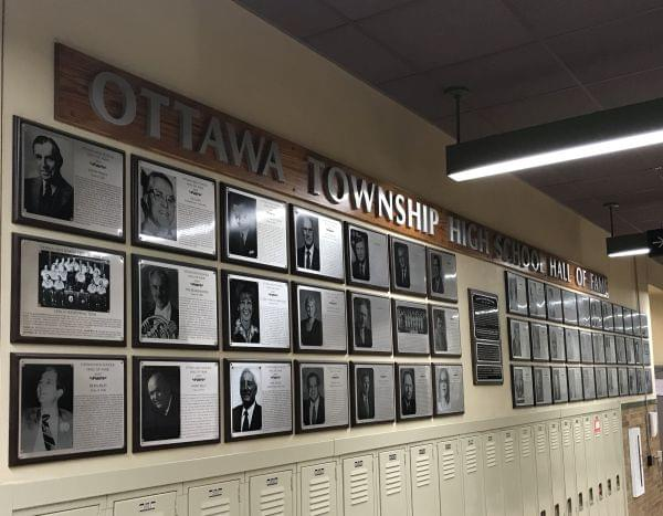 Next Ottawa High School Hall of Fame induction will be in 2022