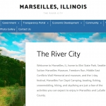 Marseilles launches new website