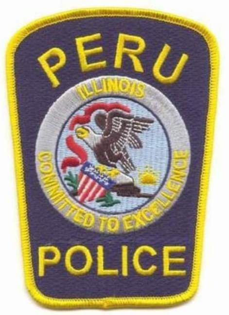 peru police patch