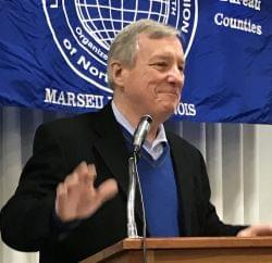 Durbin says Trump Administration's plans for labor are against unions