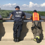 Rescue agencies keep watch for man said to have jumped into Illinois River