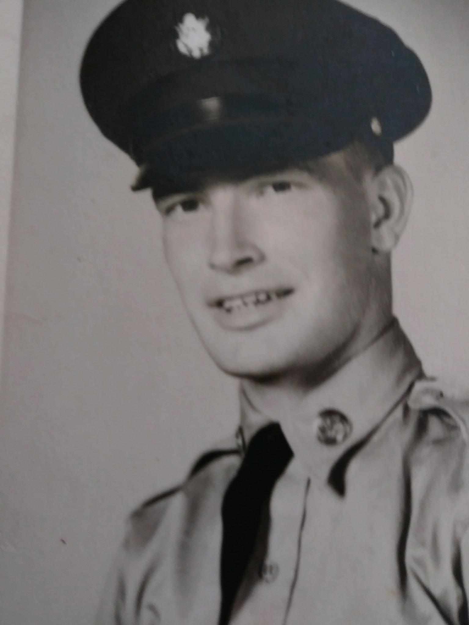 Terry Maloy pic in military uniform