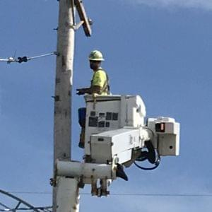 Ameren crews are working 17 hours a day to restore service