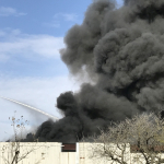 Scrap burns in building at Cimco Recycling