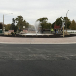Peru opens Plank Rd.-Peoria St. roundabout–partially