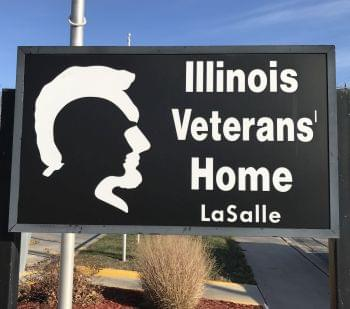 Veterans Home LaSalle sign