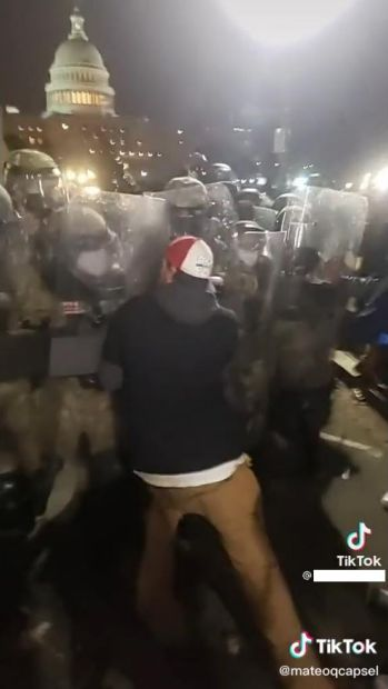 New bail conditions for local man charged after Capitol riot