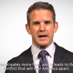 Cong. Kinzinger speaks out against fear in new video